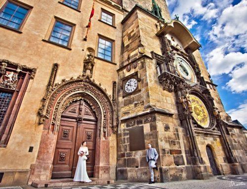 Алёна и Кирилл | Староместская ратуша Прага