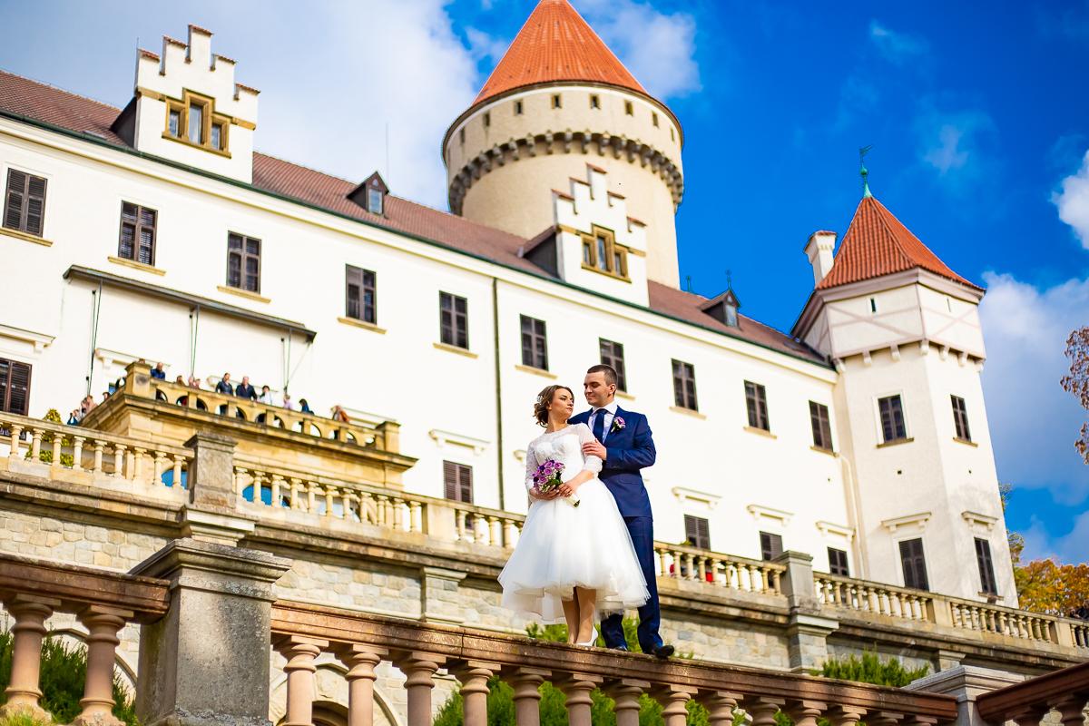 свадьба в замке Конопиште