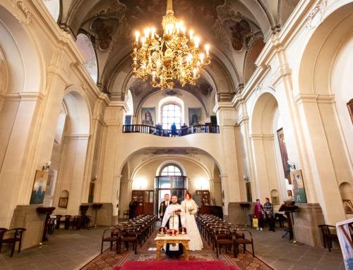 Венчание в Праге – в храме Cв. Кирилла и Мефодия